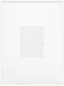 Johannes Bendzulla, Klarsichthülle (Rückseite), 2012, inkjet print on handmade paper, 78x57cm, ed5