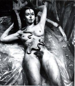 Carolee Schneemann, Eye Body_36 Transformative Actions (1963)