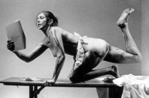 Carolee Schneemann, Interior Scroll, 1975