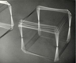 Gianni Colombo , spazio-elastico-cubo3