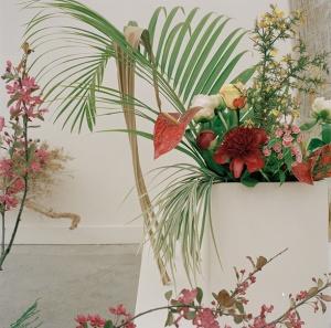 Camille Henrot, Est-il possible d etre revolutionnaire et d aimer les fleurs, installation view at La Triennale -Intense Proximity, Palais de Tokyo, Paris, 2012