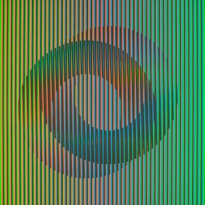 Carlos Cruz Diez, Serie Semana - Jueves, 2013