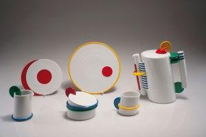 Marcello Morandini. Coffee set. 15 pieces, designed in 1987.