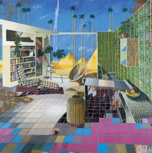 Matthias Weischer Egyptian room, 2001