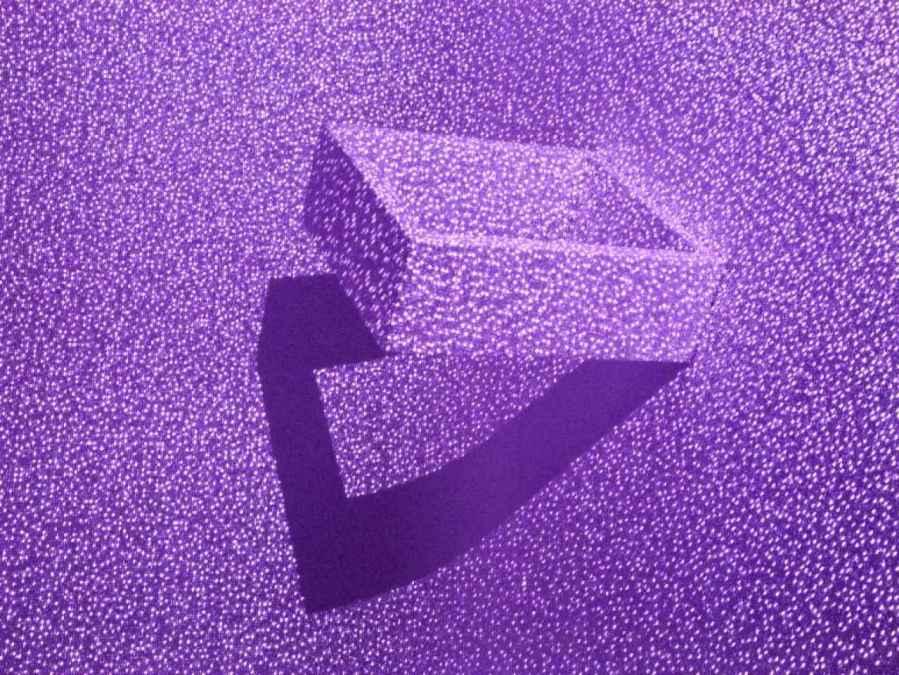 Assaf Evron - Visual Pyramid after Alberti, 2013-2014