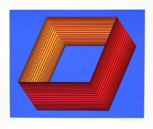 richard-anuszkiewicz-untitled-blue-ii-1991